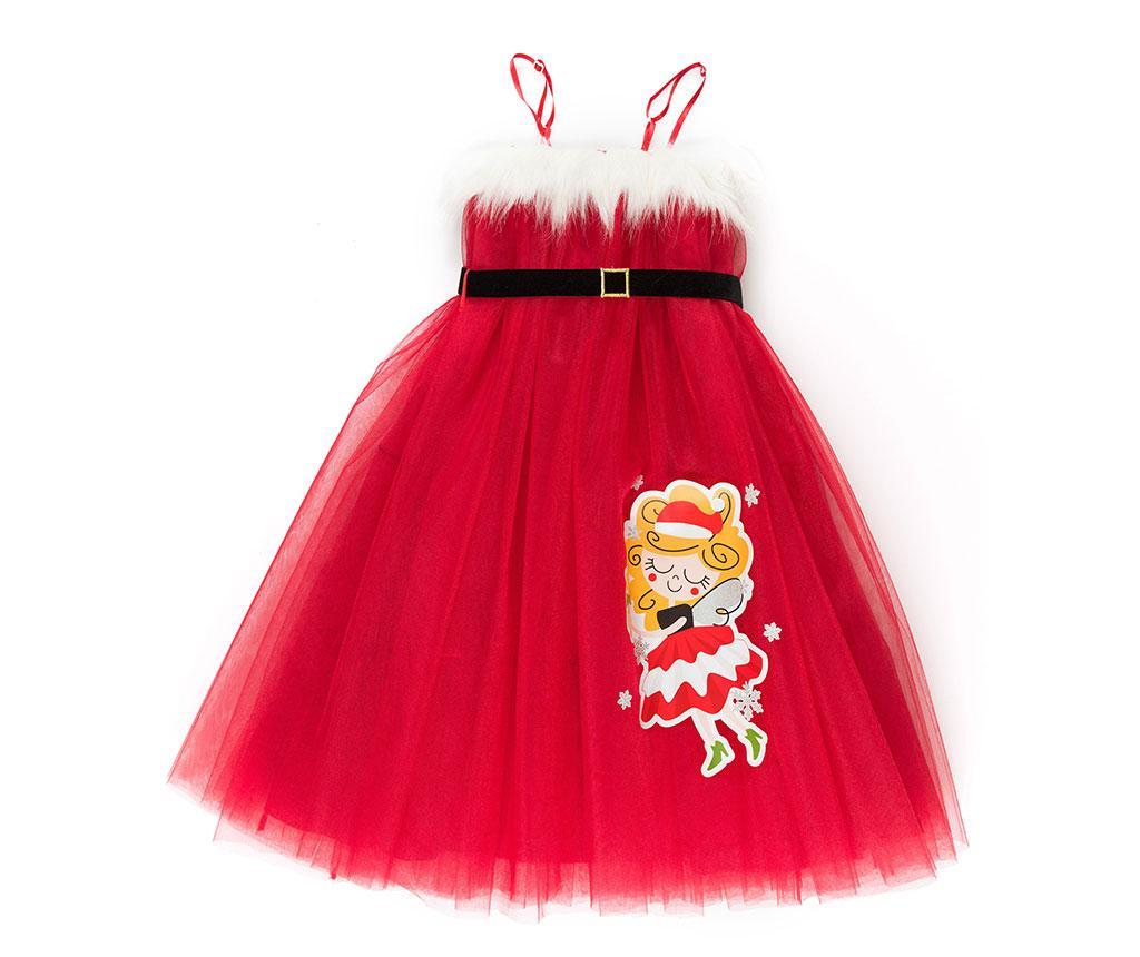 Rochie fara maneci pentru copii Tulle Christmas Fairy 3 ani