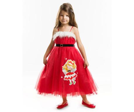 Otroška obleka brez rokavov Tulle Christmas Fairy 9 let