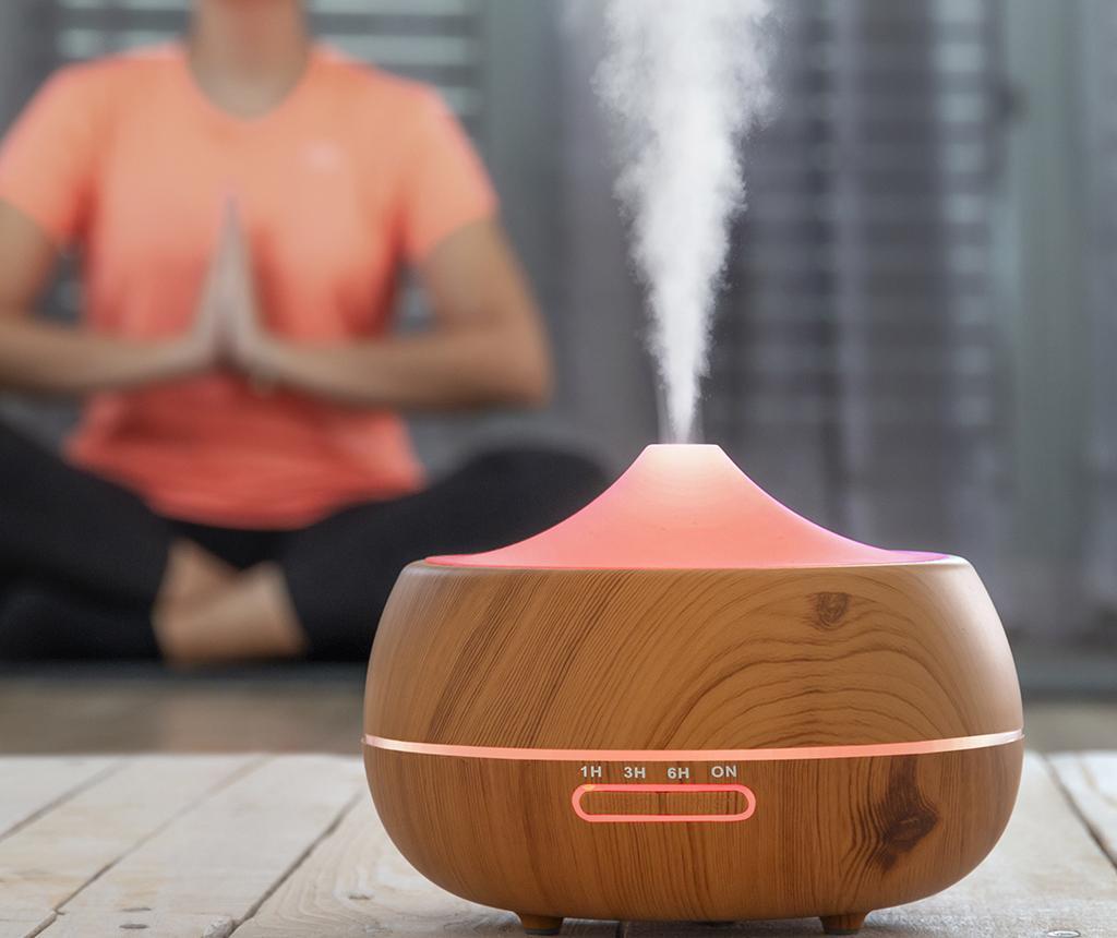 InnovaGoods Wooden-Effect Légpárásító