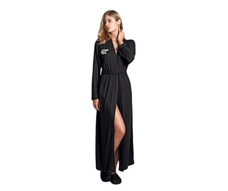 Дамски домашен халат Alexya  Black