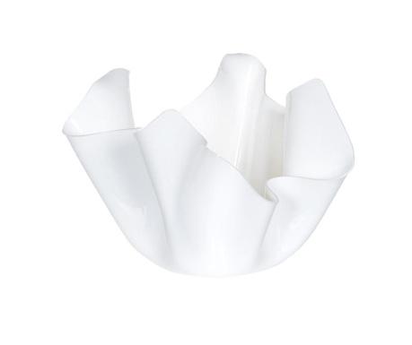 Vas decorativ Drappeggi White