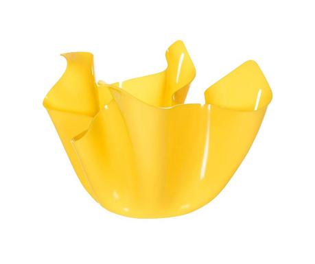 Vas decorativ Drappeggi Yellow
