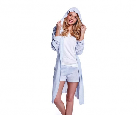 Комплект дамска пижама и домашен халат Tammy Sky