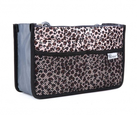 Οργανωτής τσάντας Premium Chelsy Leopard Gold