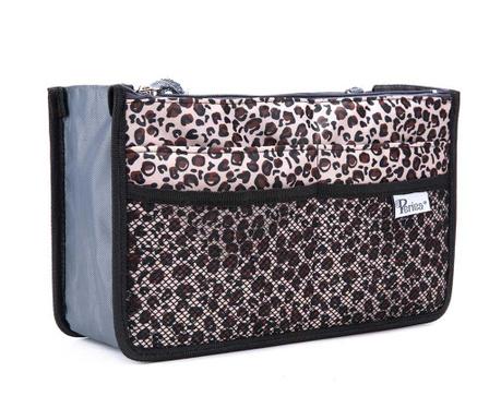 Organizator za torbu Premium Chelsy Leopard Gold
