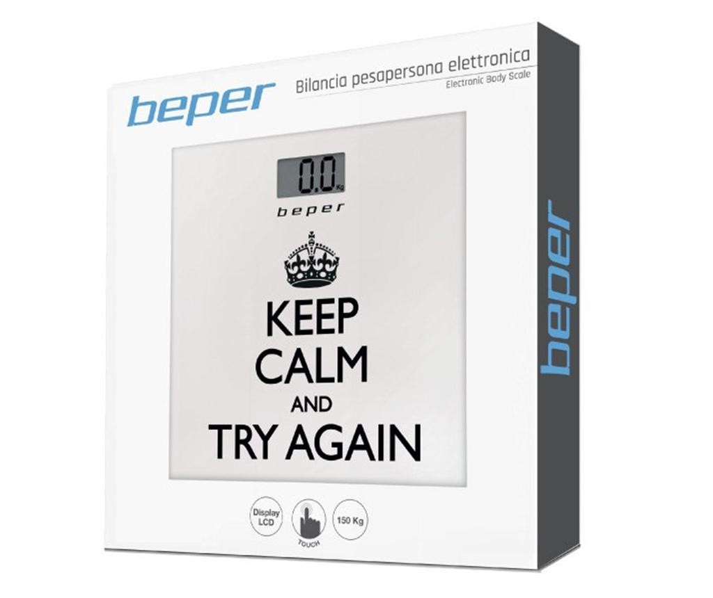 Keep Calm Elektromos mérleg