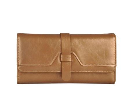 Elaina Beige Női pénztárca