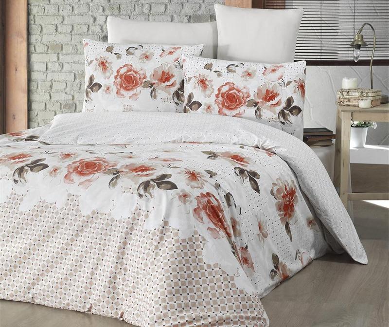 Спално бельо King Ranforce Isabella Orange