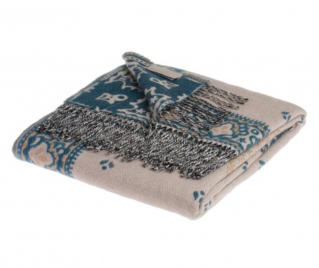 Pokrivač Madeline Blue Dove Grey 130x180 cm