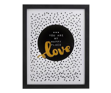 Obraz Love 30x40 cm