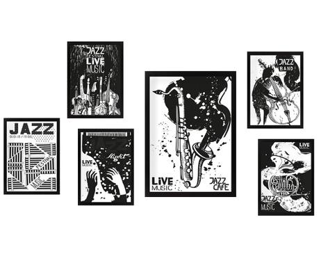 Set 6 slika Jazz