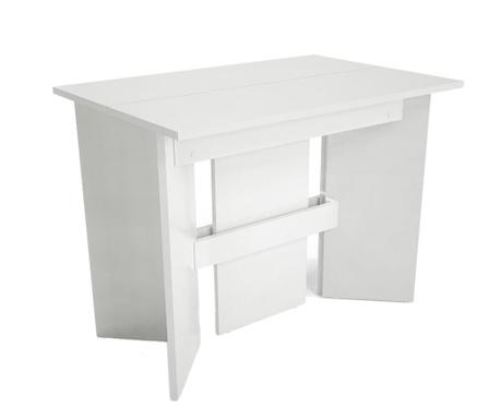 Rozkladací stôl Peninsule White