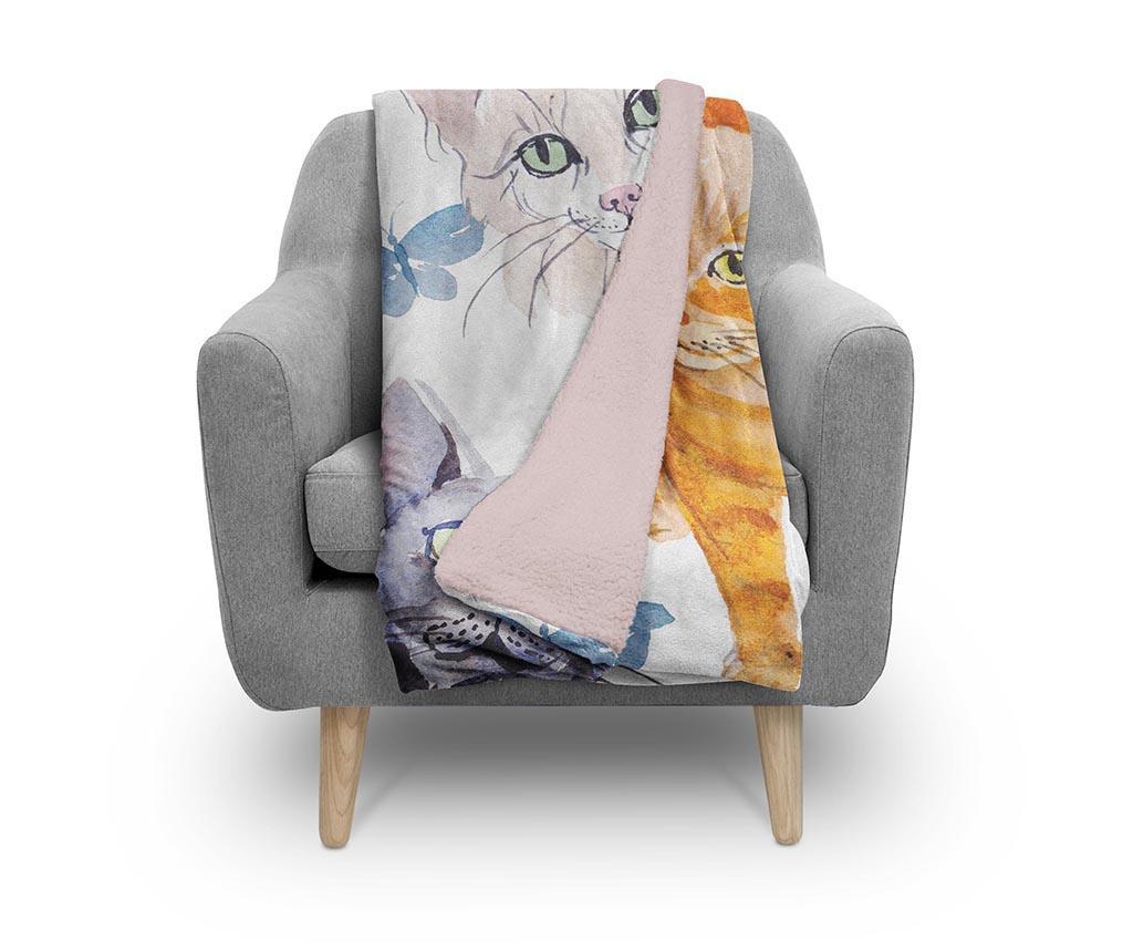 Pled Friendly Cats 130x160 cm