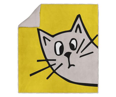 Pléd Wandering Cat 130x160 cm