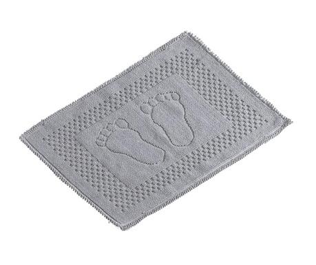 Předložka do koupelny Feet Grey 50x70 cm