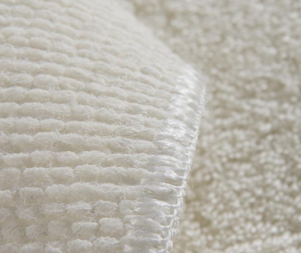 Kopalniška preproga Plain White 60x100 cm