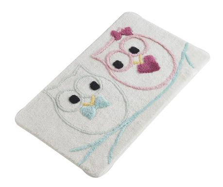 Love Owls Fürdőszobai szőnyeg 60x100 cm