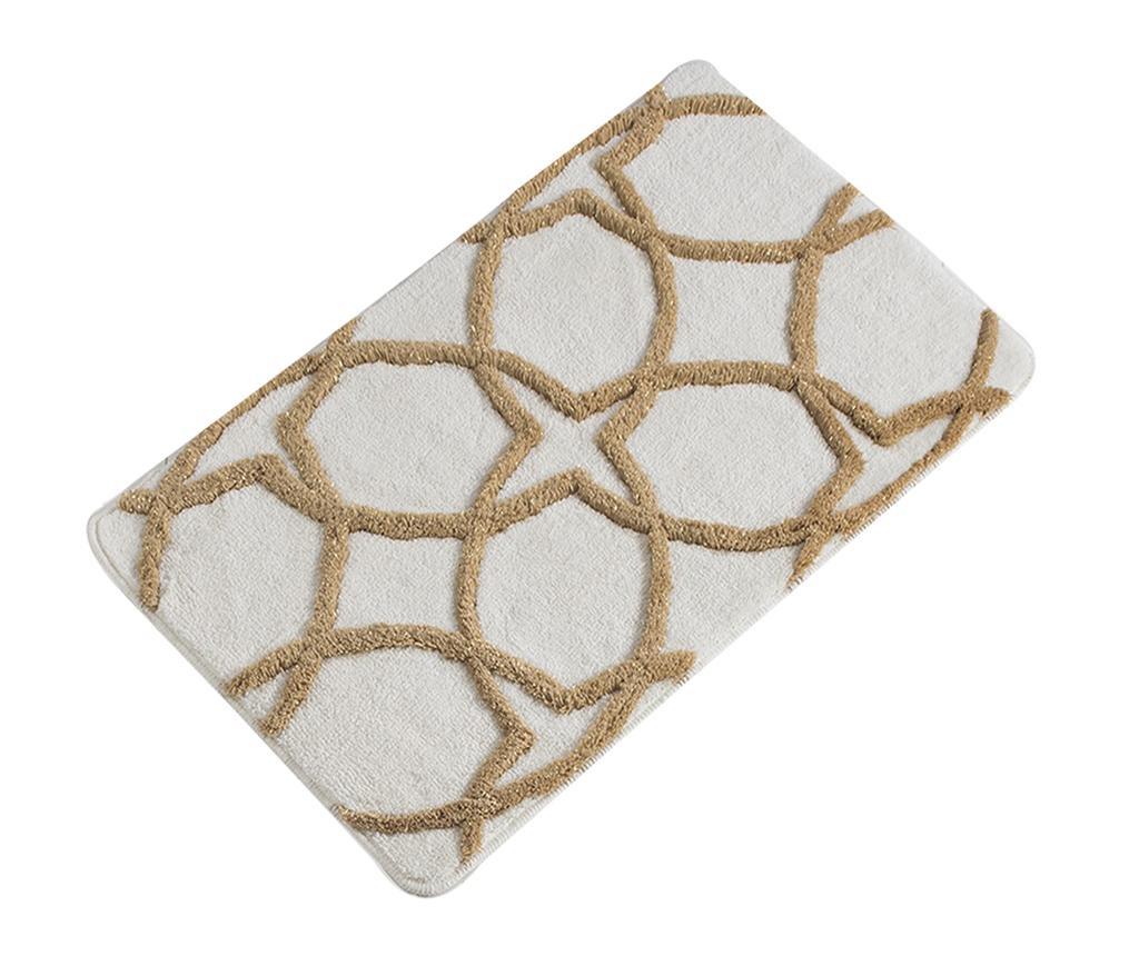 Covoras de baie Bevis Cream 60x100 cm