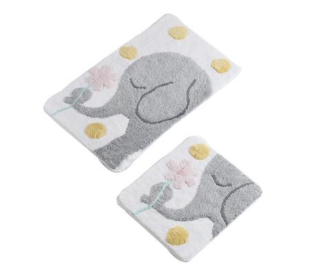 Elephant Grey 2 db Fürdőszobai szőnyeg