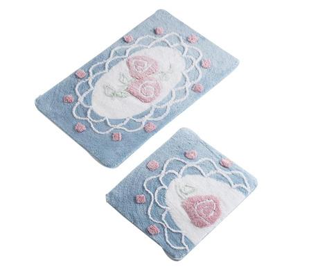 Dantel Blue 2 db Fürdőszobai szőnyeg