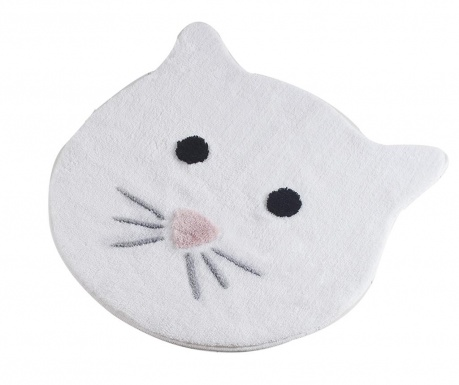 Cat White Fürdőszobai szőnyeg 90 cm