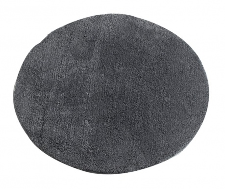 Килим за баня Circle Anthracite 90 см
