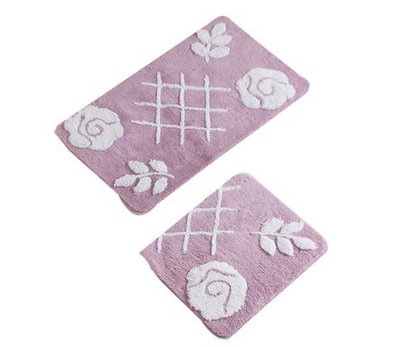 Pastel Lilac 2 db Fürdőszobai szőnyeg