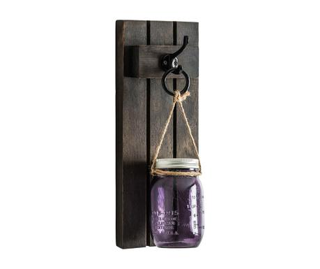 Suport de perete pentru lumanare Purple Fairy