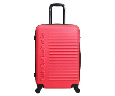 Kovček na kolesih Lulu Classic  Pink