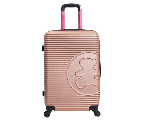 Kovček na kolesih Big Bear Light Pink