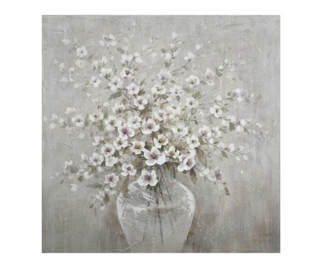 Tablou Flowers In A Vase 100x100 cm