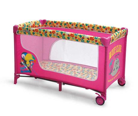 Tarc de joaca pentru copii Fun Pink Parrot