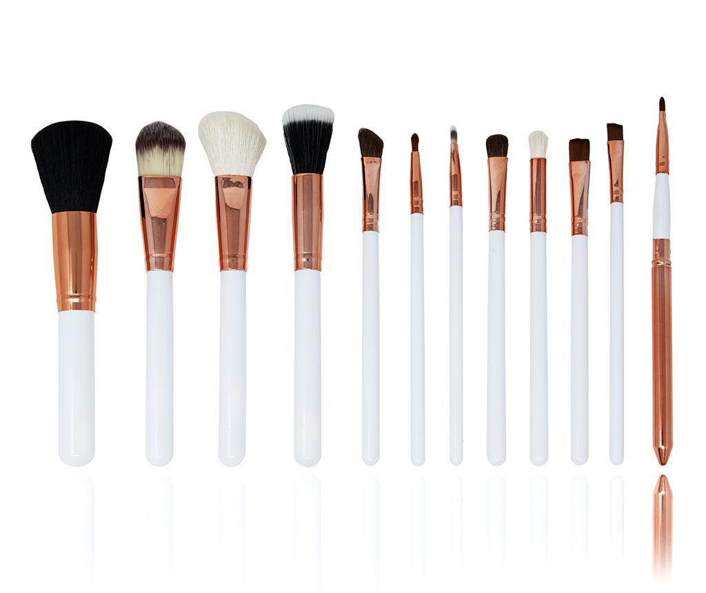Makeup Lover White 12 db Sminkecset tartóval