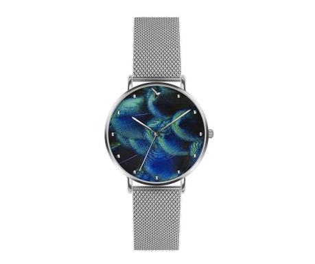 Γυναικείο ρολόι χειρός Emily Westwood Wave Glam Silver