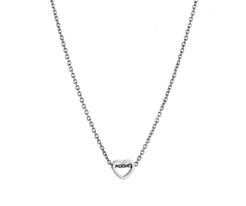 Lantisor cu pandantiv Love Silver