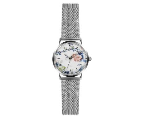 Γυναικείο ρολόι χειρός Emily Westwood Vivalia Silver