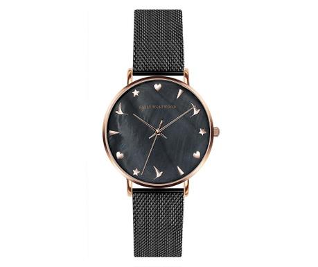 Γυναικείο ρολόι χειρός Emily Westwood Glodette Black