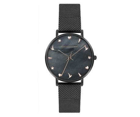 Γυναικείο ρολόι χειρός Emily Westwood Vitas Black