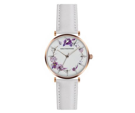Γυναικείο ρολόι χειρός Emily Westwood Lilliene White
