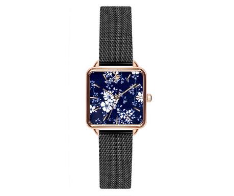 Γυναικείο ρολόι χειρός Emily Westwood Square Black
