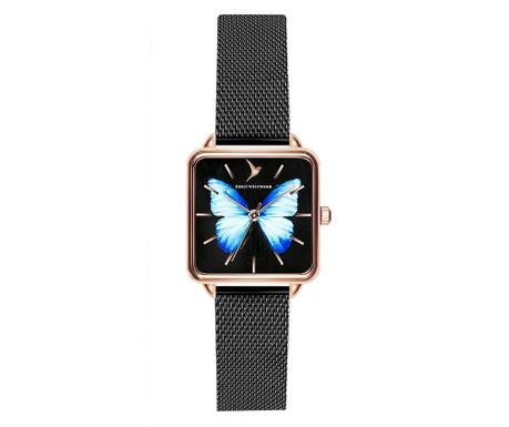 Γυναικείο ρολόι χειρός Emily Westwood Fly Black