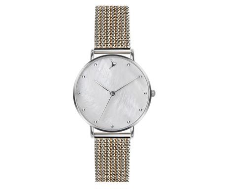 Γυναικείο ρολόι χειρός Emily Westwood Liza Silver Gold