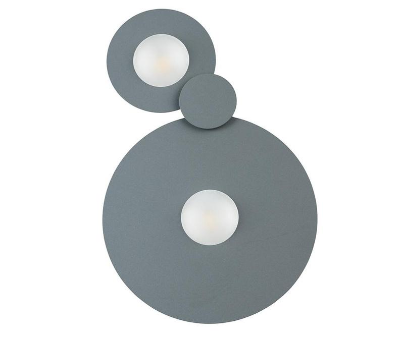 Stropna svjetiljka Perry Grey Two