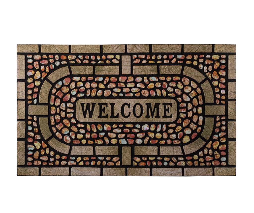 Coloured Pebbles Lábtörlő szőnyeg 45x75 cm