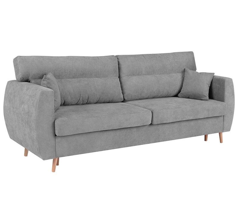 Sydney Light Grey Háromszemélyes kihúzható kanapé