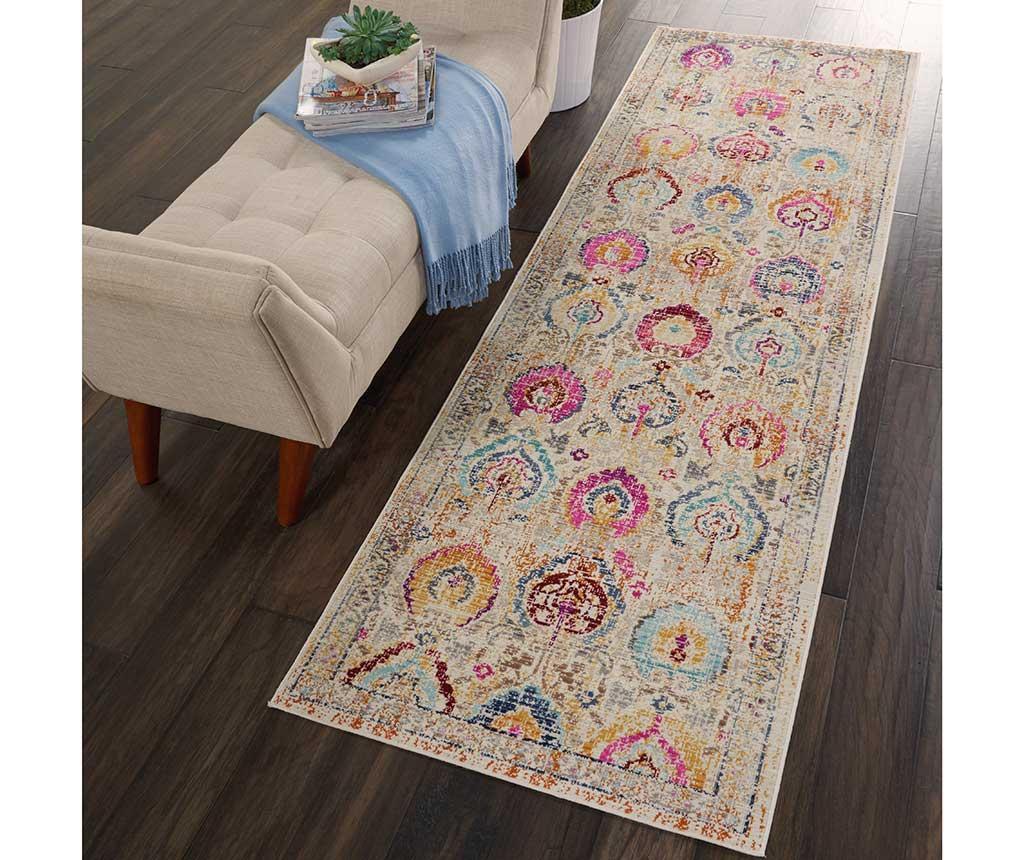 Preproga Flower Pattern 61x183 cm