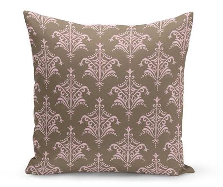 Διακοσμητικό μαξιλάρι Charlotte Brown 43x43 cm