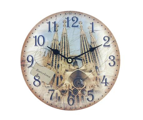 Zegar ścienny Barcelona