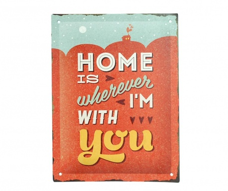 Стенна декорация Home With You