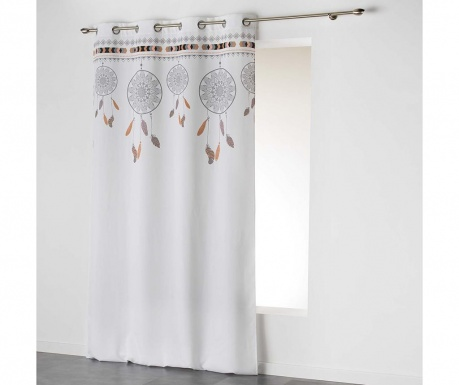 Draperie Indila Top White 140x260 cm